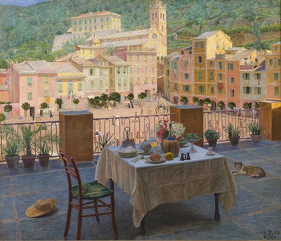 fransk modernisme malerier